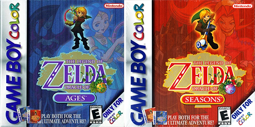 Best GameBoy Colour Games - legend of zelda ages and seasons